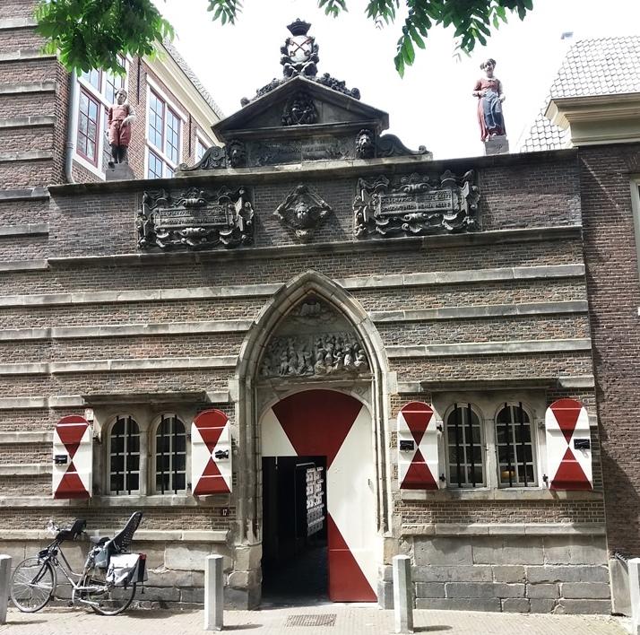 Leiden heilige geest weeshuis hooglandse kerkgracht