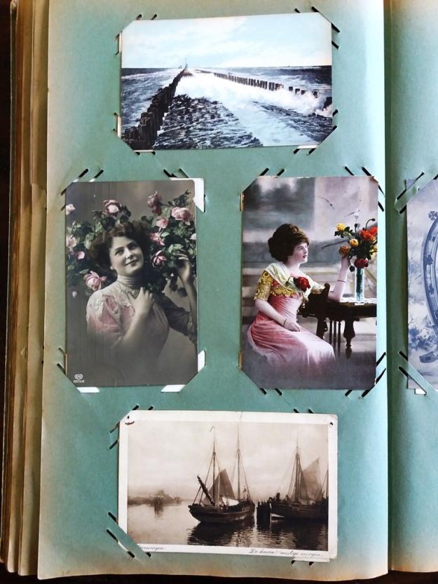 Ansichtkaartenboek oudtante Nel 082