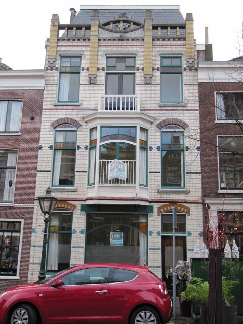 Lange Mare 53 te Leiden in 2014